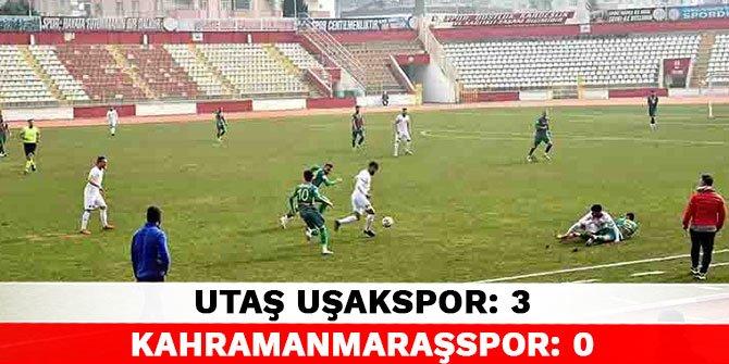 Utaş Uşakspor 3-0 Kahramanmaraşspor