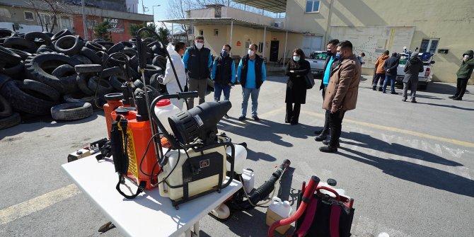 Büyükşehir'den ilaçlama ekiplerine teknik eğitim