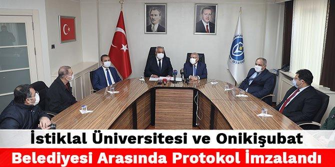 Expo 2023 için İstiklal Üniversitesi ve Onikişubat Belediyesi arasında Protokol imzalandı