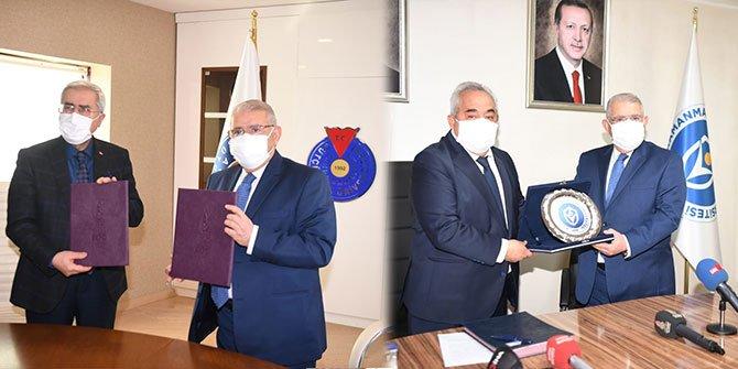 Onikişubat Belediyesi, KSÜ ve İÜ arasında EXPO 2023 protokolü imzalandı