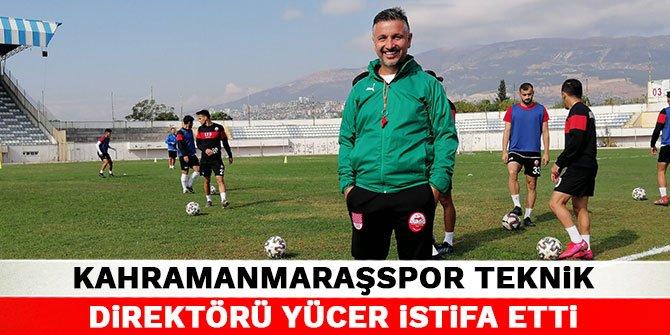 Kahramanmaraşspor Teknik Direktörü Yücer istifa etti