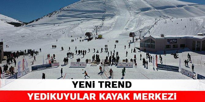 Yeni trend Yedikuyular Kayak Merkezi