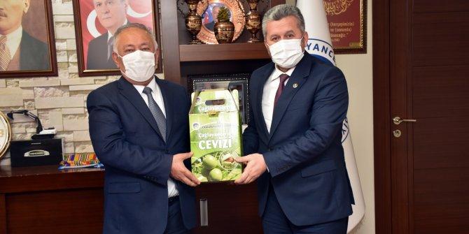 Yardımcıoğlu'ndan Başkan Sarıaltun'a ziyaret