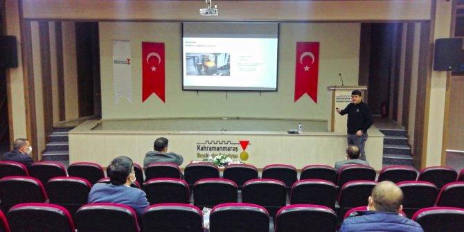 Kahramanmaraş'ta toplu taşıma şoförlerine eğitim verildi