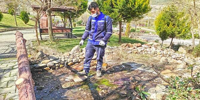 Kahramanmaraş'ta sivrisinekle etkin mücadele, üreme noktaları ilaçlanıyor
