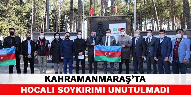 Hocalı Soykırımı Kahramanmaraş'ta unutulmadı