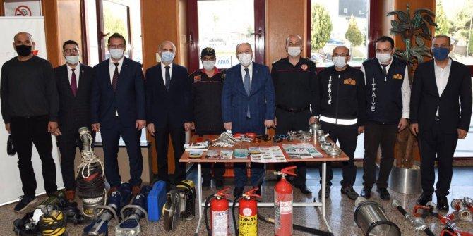 Kahramanmaraş'ta Deprem Haftası'nda farkındalık eğitimi