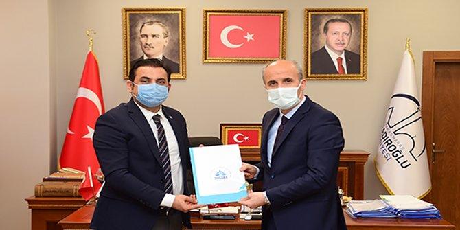 Turizmi kalkındırmaya çalışan Dulkadiroğlu'na DOĞAKA'dan destek