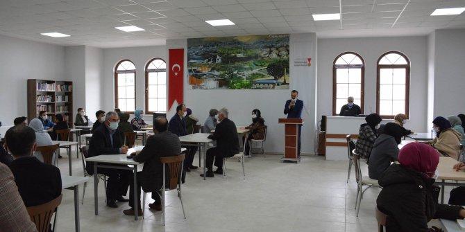 Kahramanmaraş'ta Millet Konakları kitapla buluşma merkezi oldu