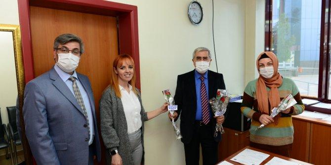 KSÜ Rektörü Prof. Dr. Niyazi Can, 8 Mart Dünya Kadınlar Gününü kutladı