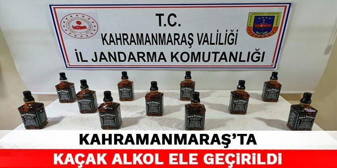 Kahramanmaraş'ta kaçak alkol ele geçirildi