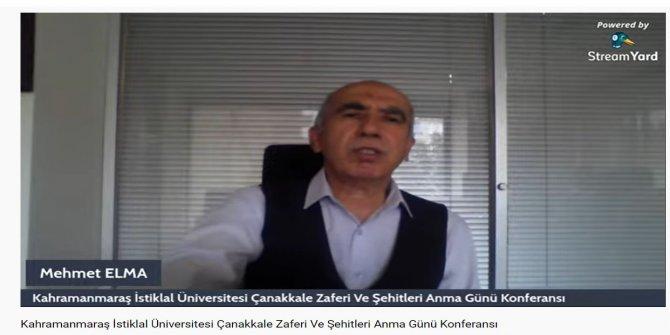 KİÜ'de Çanakkale Zaferi anlatıldı