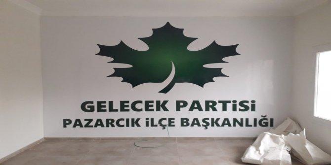 Gelecek Partisi Pazarcık İlçe Başkanı Koray Tuncer istifa etti