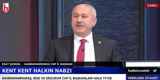 CHP'li Esat Şengül: Kahramanmaraş kendi kendine yeten bir zenginliğe sahip