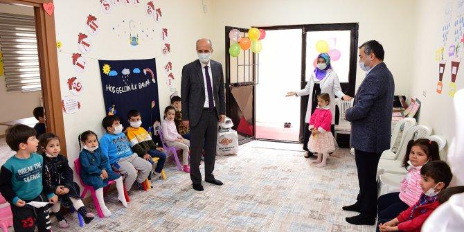 Başkan Okay'dan kuran kursu öğrencilerine ziyaret