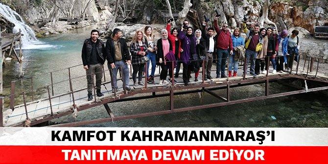 KAMFOT Kahramanmaraş'ı tanıtmaya devam ediyor