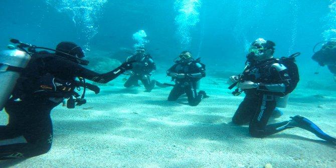 Kahramanmaraş'ta itfaiye'nin balıkadamlarına sıkı eğitim