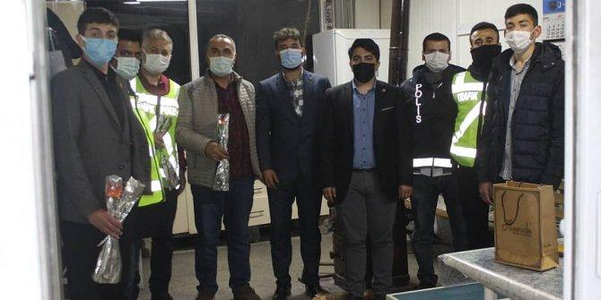 Saadet Partisi Kahramanmaraş Gençlik Kolları İl Başkanlığı Polis Teşkilatı ziyareti