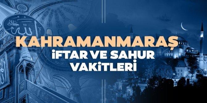 Kahramanmaraş İmsakiye (2021) Kahramanmaraş Ramazan iftar vakti ve sahur saatleri