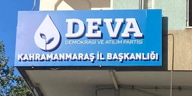 Deva Partisi Kahramanmaraş İl Teşkilatında görev dağılımı yapıldı