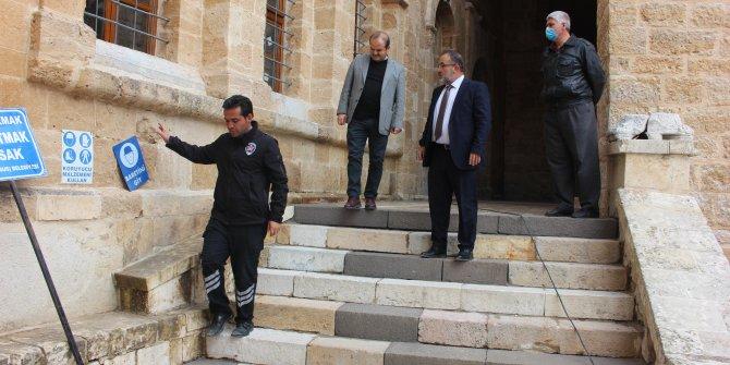 Başkan Güven'den Eshab-ı Kehf'e kalıcı restorasyon müjdesi