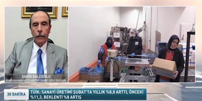 KMTSO Başkanı Balcıoğlu: Kahramanmaraş ihracatını arttıran 10 il arasına girdi