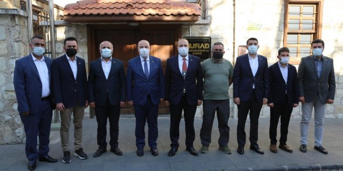 Vali Coşkun'dan MÜSİAD Kahramanmaraş'a ziyaret