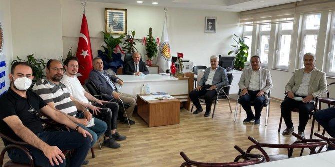 Deva Partisi Kahramanmaraş'tan ASKF'ye hayırlı olsun ziyareti