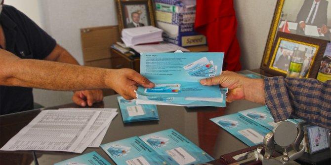Kahramanmaraş'ta örnek projede kart dağıtımı sürüyor