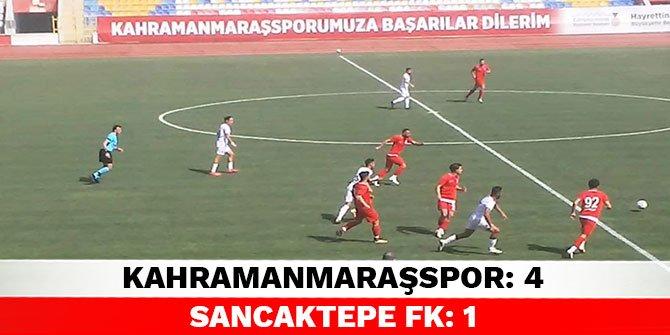 Kahramanmaraşspor: 4  Sancaktepe FK: 1