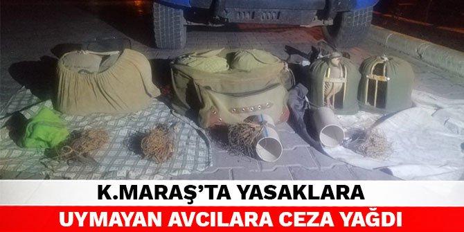 Kahramanmaraş'ta yasaklara uymayan avcılara ceza yağdı