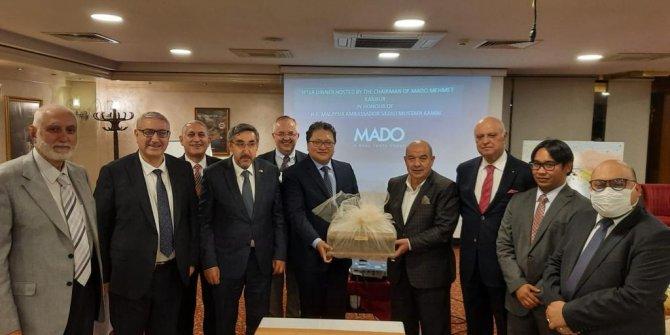 Büyükelçiler MADO'nun lezzetleri ile iftar açtı