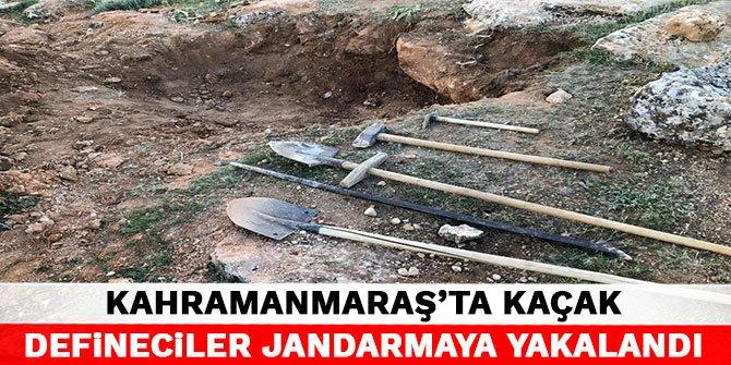 Kahramanmaraş'ta yasakta define ararken yedikleri cezayla ceplerindeki paradan oldular