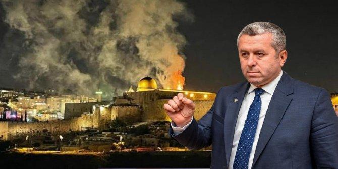Yardımcıoğlu'ndan İsrail'e tepki: Bugün artık cihaddan başka yol kalmamıştır!