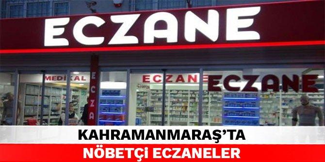 Kahramanmaraş'ta nöbetçi eczaneler - 18 Eylül 2021