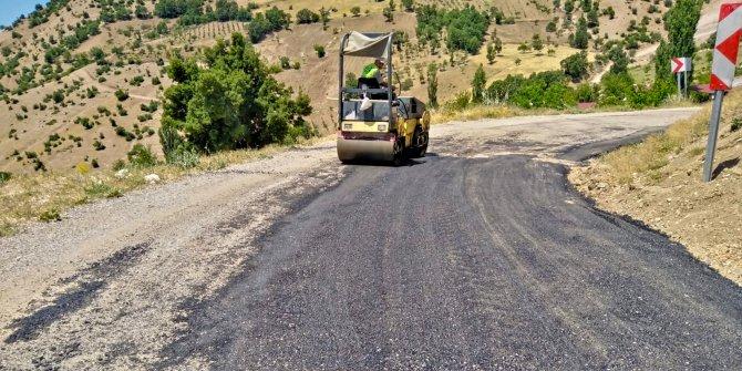 Kahramanmaraş'ın 3 ilçesinde 50 kilometrelik yol yenilendi