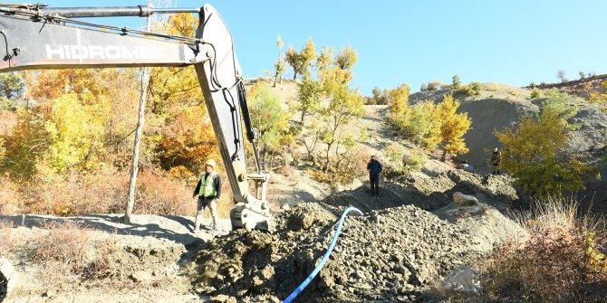 Karamanlı Mahallesi'nde içme suyu çalışmaları devam ediyor