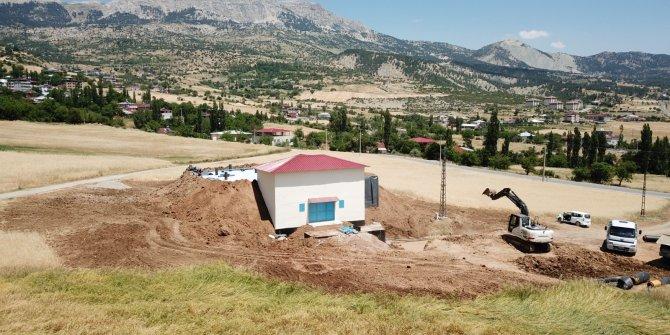 Ilıca Mahallesi Jeotermal tesislerin yenilenme çalışması tamamlandı
