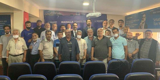 Saadet Partisi mahalle temsilcileri eğitim toplantısı gerçekleşti