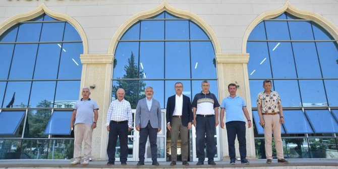 Güvenç: Metropol ilçe Türkoğlu'nun yatırımlarını inceledik