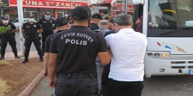 Kahramanmaraş'ta sarı maden operasyonunda 8 kişi tutuklandı