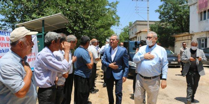 Pazarcık'ta sorunlar çözüme kavuşturuluyor