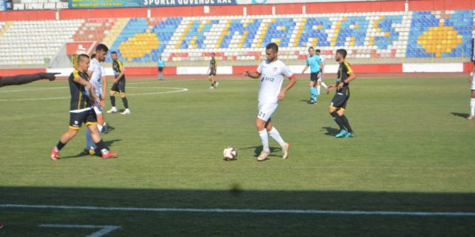 Mersin İdmanyurdu Kahramanmaraş'ta yarı final biletini kaptı