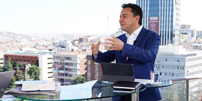 Ali Babacan'dan erken seçim yorumu: İktidar bloku çatlamazsa erken seçim olmaz
