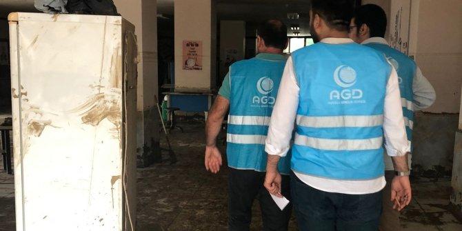 AGD Rize ve Artvin'de yaraları sarıyor