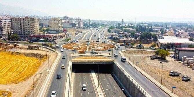 Kahramanmaraş'ta Hal Kavşağı yenileniyor