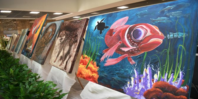 Onikişubat Belediyesi'nde 'Renklerin Hasadı' resim sergisi