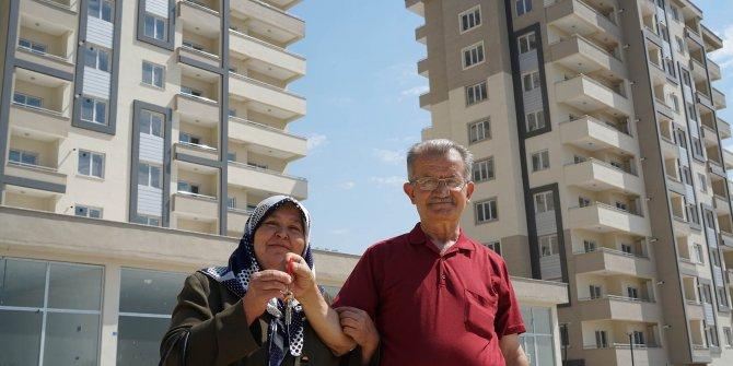 Kahramanmaraş Yusuflar kentsel dönüşüm projesinde evler teslim edilmeye başladı!