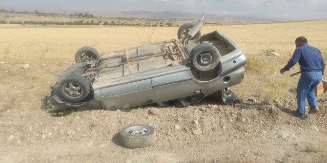 Trafik kazasında ağır yaralanan sürücü hayatını kaybetti