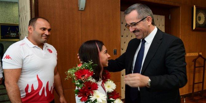 Kahramanmaraşlı Sevilay Olimpiyat'ta mücadele edecek